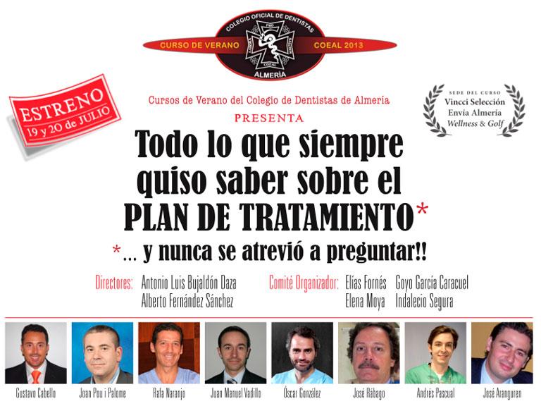 Curso Verano Colegio Dentistas Almería 2013