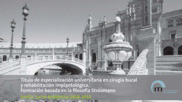Experto Universitario en Cirugía Bucal y rehabilitación implantológica bajo filosofía Straumann